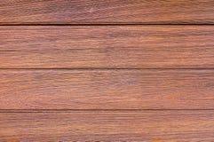De bruine achtergrond van de plank houten muur Stock Foto