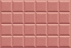 De bruine artistieke achtergrond van het Tegelblok met borstelpatroon Stock Illustratie
