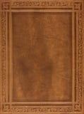 De bruine dekking van het leerboek Royalty-vrije Stock Afbeeldingen