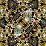 De bruine gele Ster van Mandala Stock Foto