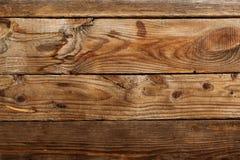 De bruine houten textuur met knoop Royalty-vrije Stock Foto's