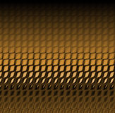 De bruine Huid van de Slang Stock Foto