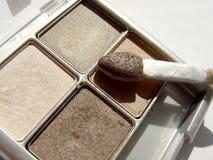 De bruine Make-up van het Oog Royalty-vrije Stock Afbeeldingen