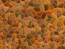 De bruine Muur van de Steen royalty-vrije illustratie