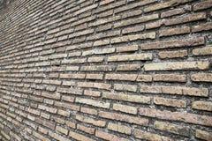 De bruine Textuur van de Bakstenen muur Royalty-vrije Stock Fotografie