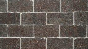 De bruine Textuur van de Bakstenen muur stock foto