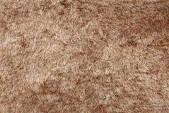 De bruine textuur van het Bont Stock Foto's