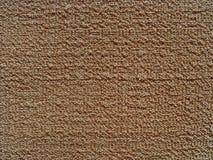 De bruine van het katoenen textuur hulpcanvas Stock Foto's