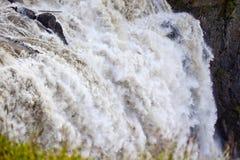 De brullende Waterval van Dalingen Snoqualme royalty-vrije stock fotografie