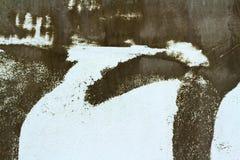 De bruna väggarna är bakgrund Arkivfoton