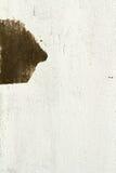 De bruna väggarna är bakgrund Arkivfoto