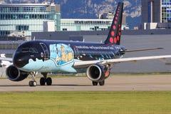 A320 de Bruxelles Photographie stock libre de droits