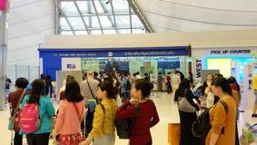 De BTW terugbetaling bij Suvarnabhumi-Luchthaven Royalty-vrije Stock Afbeeldingen