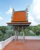 De Buddistbouw in park van Nong Nooch (Pattaya, T royalty-vrije stock foto's