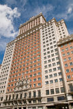 De budynku Espana Madryt nowoczesnego plaza Fotografia Stock