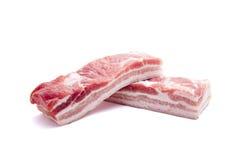 De buik van het varkensvlees Stock Foto's