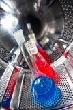 De buis van de chemie op termostat Royalty-vrije Stock Afbeeldingen