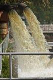De buis van de drainage Stock Fotografie