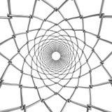 De buis van het draadweb Vat ornament samen Royalty-vrije Stock Afbeelding