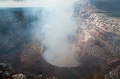 De buis van Masaya van Volcan Stock Afbeeldingen