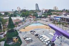 De buitenkant bij Eind 21 Pattaya stock afbeeldingen