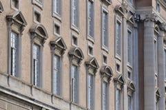 De buitenkant van Caserta Royal Palace Royalty-vrije Stock Afbeelding