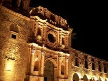 De buitenkant van de bouw in Zacatecas royalty-vrije stock foto's