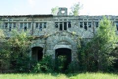 De buitenkant van de Doftanagevangenis Royalty-vrije Stock Afbeelding