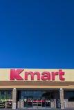 De buitenkant van de Kmartdetailhandel Stock Foto's