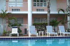 De Buitenkant van het hotel Royalty-vrije Stock Afbeelding