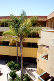 De Buitenkant van het hotel Royalty-vrije Stock Afbeeldingen