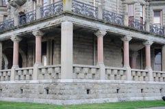 De buitenkant van het kasteel Royalty-vrije Stock Foto