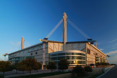 De buitenkant van het stadion royalty-vrije stock foto