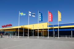 De buitenkant van Ikea Haparanda Royalty-vrije Stock Foto