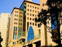 De buitenkant van Shanghai van het tuinhotel Stock Foto's