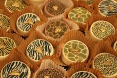 De buitensporige gebakjes zijn heerlijk royalty-vrije stock foto's