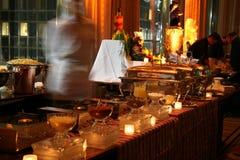 De buitensporige Lijn van het Buffet royalty-vrije stock foto's
