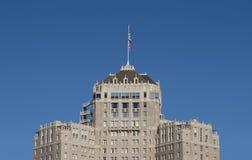 De buitensporige Oude Bouw van het Hotel Stock Afbeeldingen