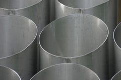 De buizen van de ventilatie Stock Foto