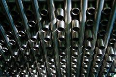 De buizen van het roestvrij staal Stock Afbeeldingen