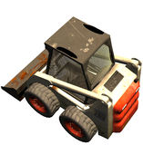De bulldozer van Bobcat Stock Afbeelding