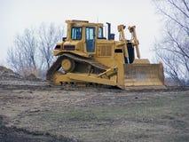 De bulldozer van de stier Stock Afbeelding