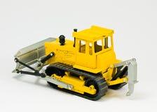 De bulldozer van het stuk speelgoed Stock Afbeeldingen