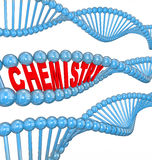 De Bundel Atom Molecule Particle Chemical Research van chemiedna Royalty-vrije Stock Foto's