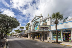 De Bundel van het bioskooptheater in Key West Royalty-vrije Stock Fotografie