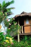 De bungalow van Brasilia in green Royalty-vrije Stock Afbeeldingen