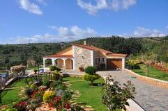 De bungalow van de familie Stock Afbeelding