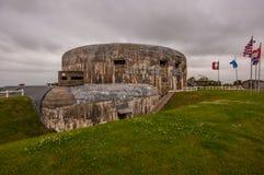 De bunker van Batterietodt in Audinghen, Frankrijk Royalty-vrije Stock Afbeeldingen