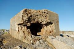 De Bunker van de tweede Oorlog van de Wereld Stock Afbeelding
