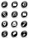 De bureau icônes simplement Photo stock